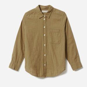 Everlane cotton shrunken shirt
